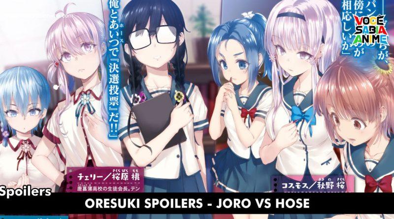 OreSuki Spoilers - Joro VS Hose