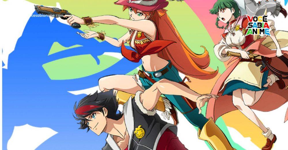 Anime Back Arrow estreia em 2021