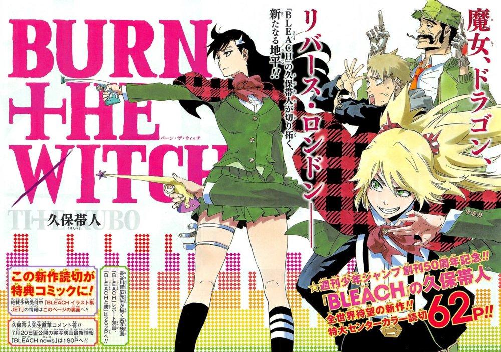 Burn the Witch ganha anime