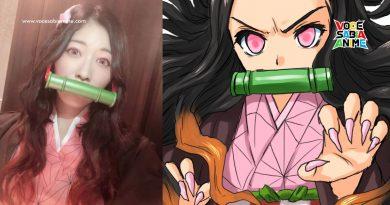 Nezuko popular entre Famosas - Cantora Jurina Matsui faz Cosplay e Shoko Nakagawa a Desenha