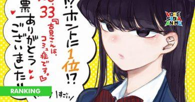 Ranking Anime Japan - Mangás que queremos em Anime - Komi-san fica em 1º