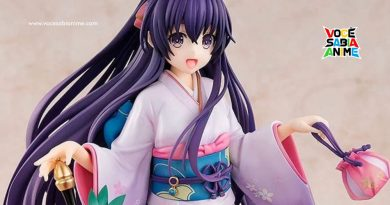 Figure da Tohka de Kimono entra em pré-venda