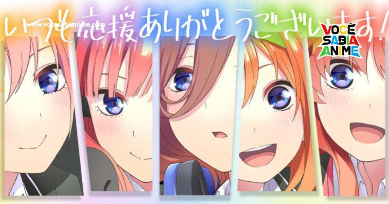 Game Mobile de Gotoubun Anunciado