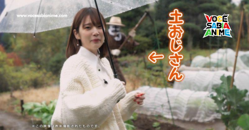 Voz da Katarina, Uchida Maaya visita Horta em dia de Chuva