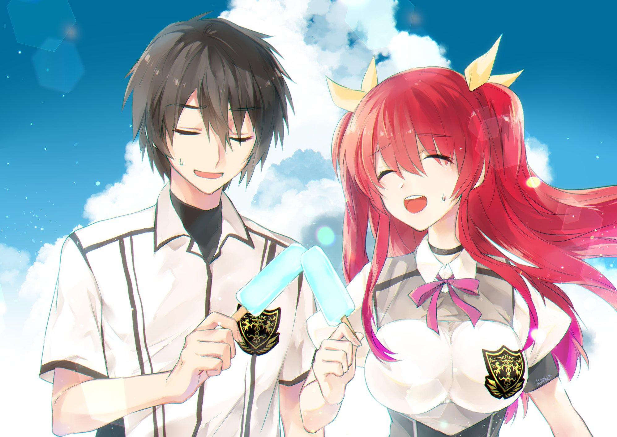 Light Novel de Rakudai Kishi entra no Último Arco