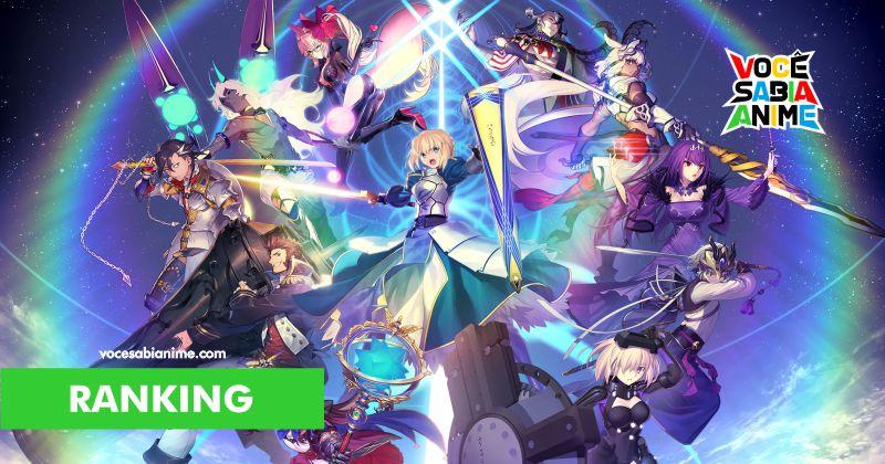 Maioria dos fãs de Fate começou pelo Grand Order