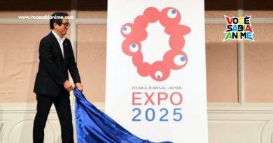 Logo do Evento Osaka-Kansai Japan Expo 2025 gera Memes