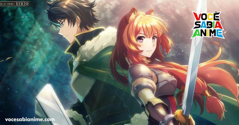 Game Mobile de Shield Hero Anunciado