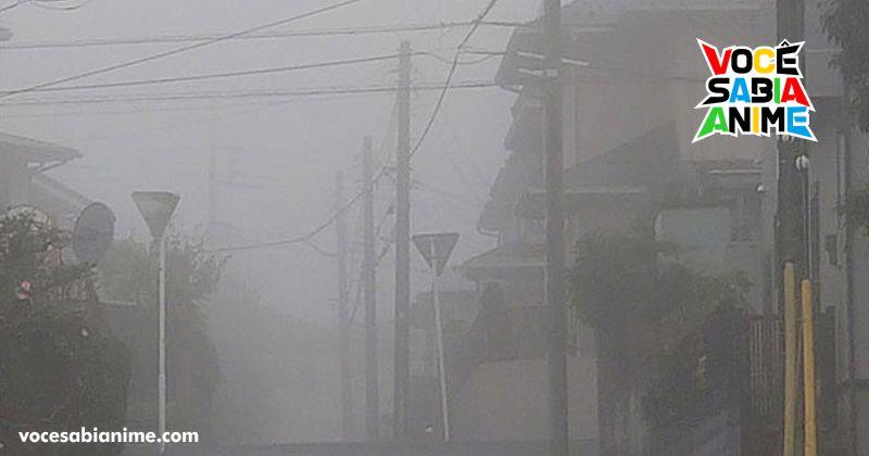 Kanto virou Silent Hill com forte Neblina