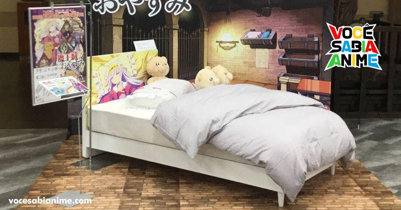 Agora você pode comprar a Cama oficial de Maojou de Oyasumi!