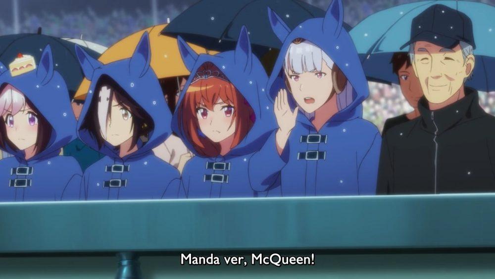 Cuidador real da Gold Ship apareceu no ep 3 de Uma Musume