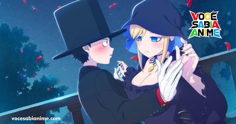 Anunciado anime de Shinigami Bocchan to Kuro Maid