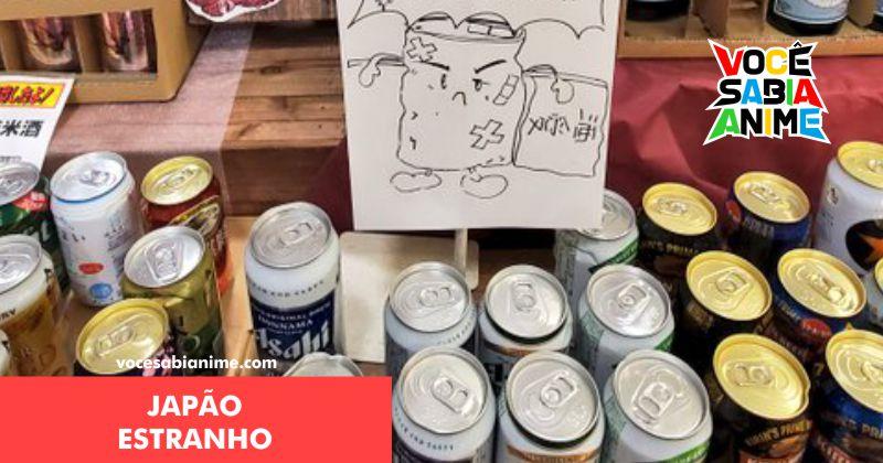 Loja vende latas danificadas pelo Terremoto como heróis