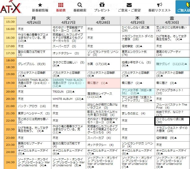 Higurashi Gou com mais de 30 episódios