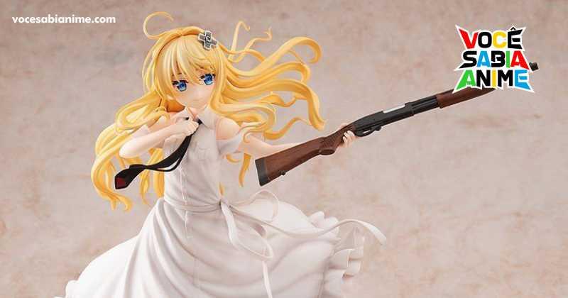 Alice pronta pra ação em figure da KDcolle