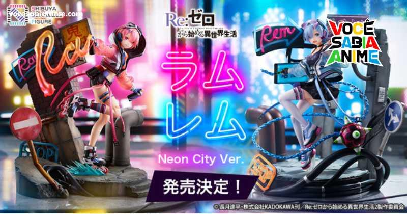 Figures Shibuya Rem e Ram de ReZero