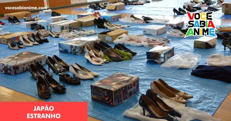 Desde criança interessado em Sapatos femininos - homem é preso por roubo