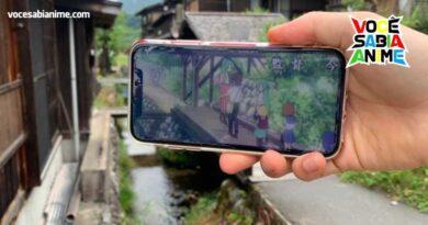 Fã usa Celular para mostrar locais reais de Higurashi e CLANNAD