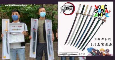 Garoto de 14 é preso com Espadas de Kimetsu no Yaiba