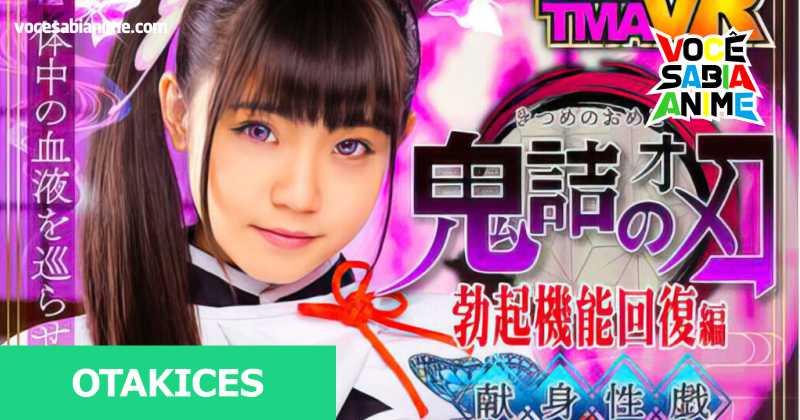 Kimetsu no Yaiba inspira mais uma Adaptação JAV-voce-sabia-anime
