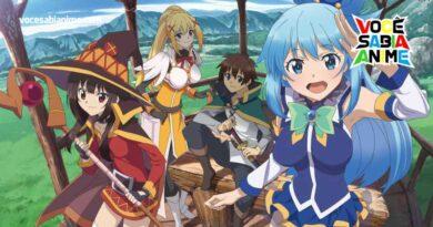 Novo anime de Konosuba anunciado