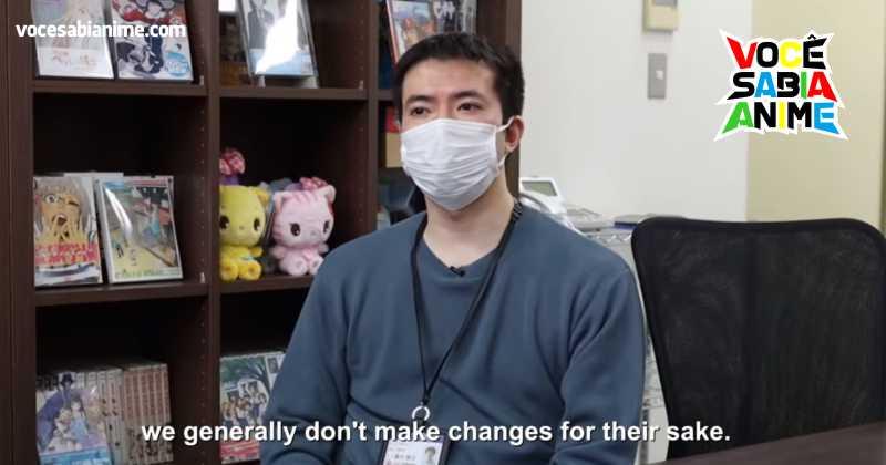 Produtor diz que fãs estrangeiros não muda a forma deles produzirem animes