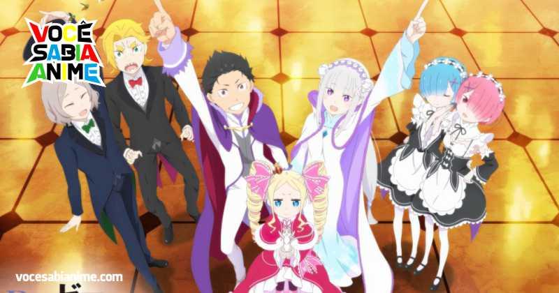 Autor de ReZero previu 8 Temporadas para o Anime