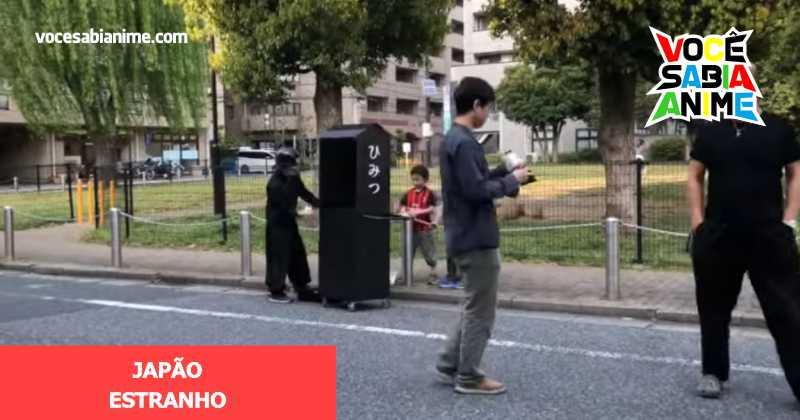 Existe uma loja de Segredos no Japão
