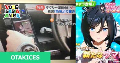 Motorista de Táxi dirige e joga Uma Musume ao mesmo tempo