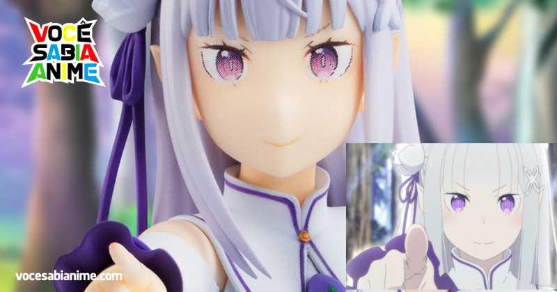 Nova Figure da Emilia é Inspirada no Encontro com a Bruxa