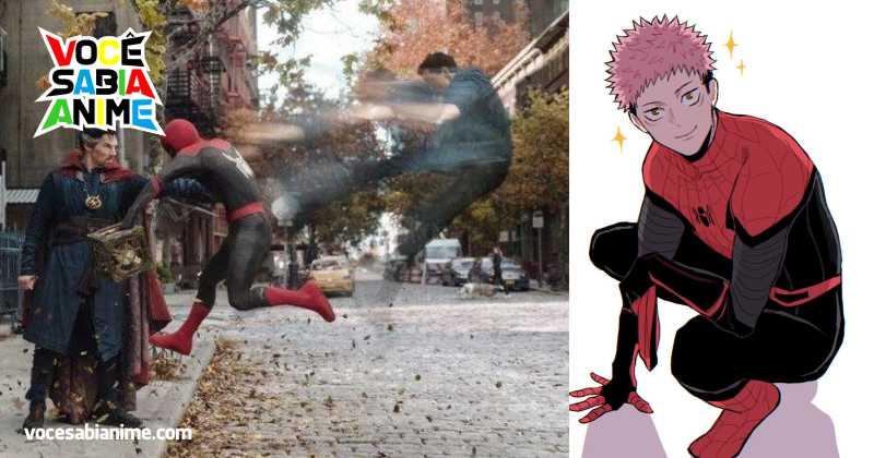 Voz do Yuji de Jujutsu será a do Homem Aranha no Japão
