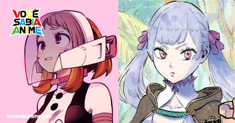 A Diferença entre Noelle e Ochako em seus Mangás