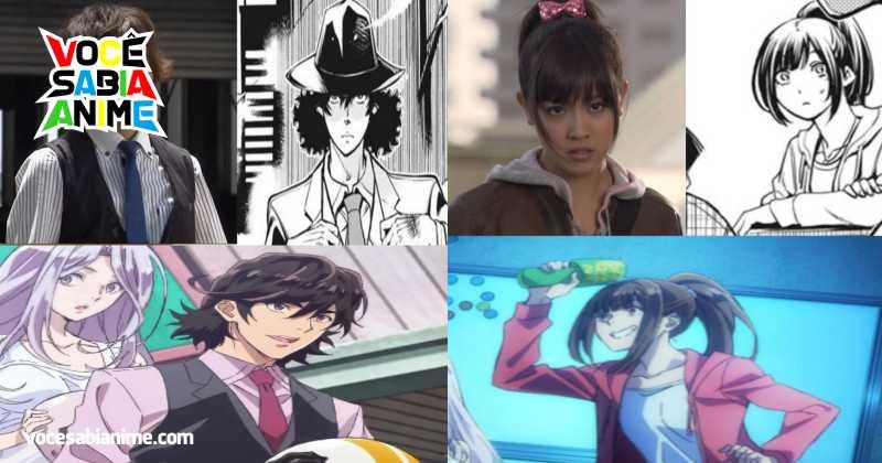 Comparação de Kamen Rider W Anime x Mangá x Série