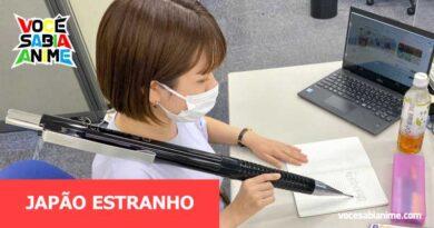 Empresa Japonesa cria Lapiseira gigante que escreve porque sim