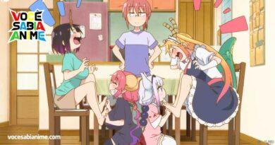 Foi a Kyoto Animation que quis adaptar Dragon Maid em um anime