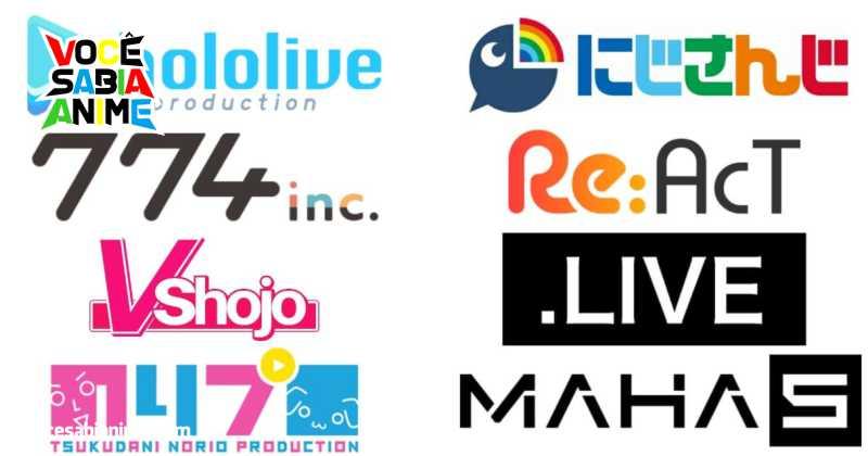 Hololive é o grupo de VTubers com mais Inscritos