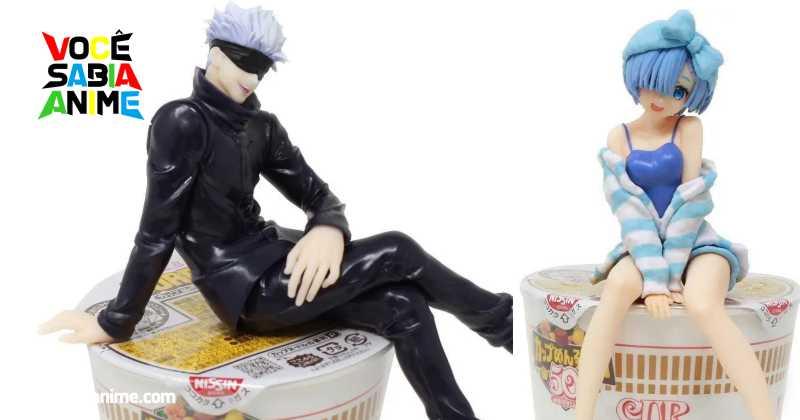 Que tal Figures para tampar seus Cup Noodles