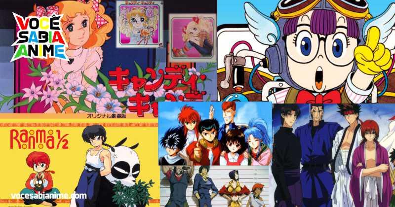 Ranking Animes Antigos que seriam Populares hoje caso fossem Refeitos