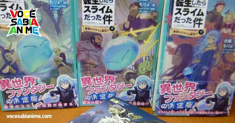 Versão para Crianças da Novel de TenSura é Lançada