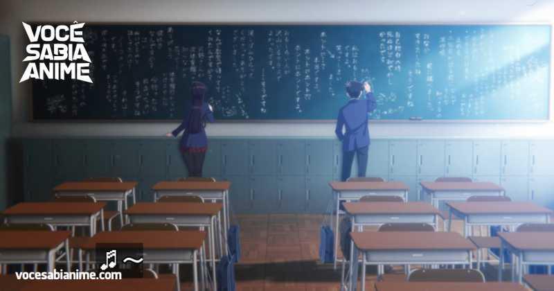 Netflix não Colocou Legenda na Cena do Quadro de Komi-san
