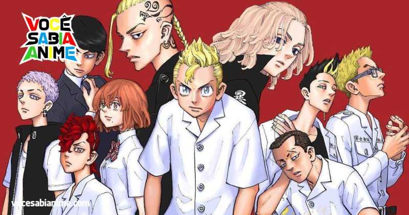 Tokyo Revengers fica em 1º nas Tendências dos Jovens Japoneses