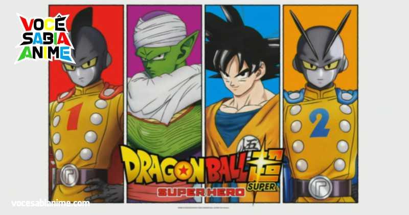 Veja o primeiro Trailer do Filme em CG Dragon Ball Super: Super Hero
